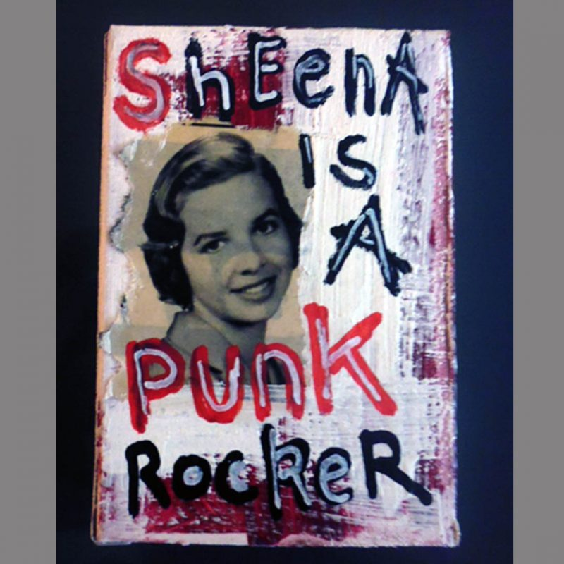 burkhard lohren – art box – ramones – sheena is a punkrocker
