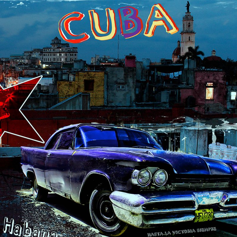 burkhard lohren – cubano style – la habana after midnight – 80 x 100 cm – 2015