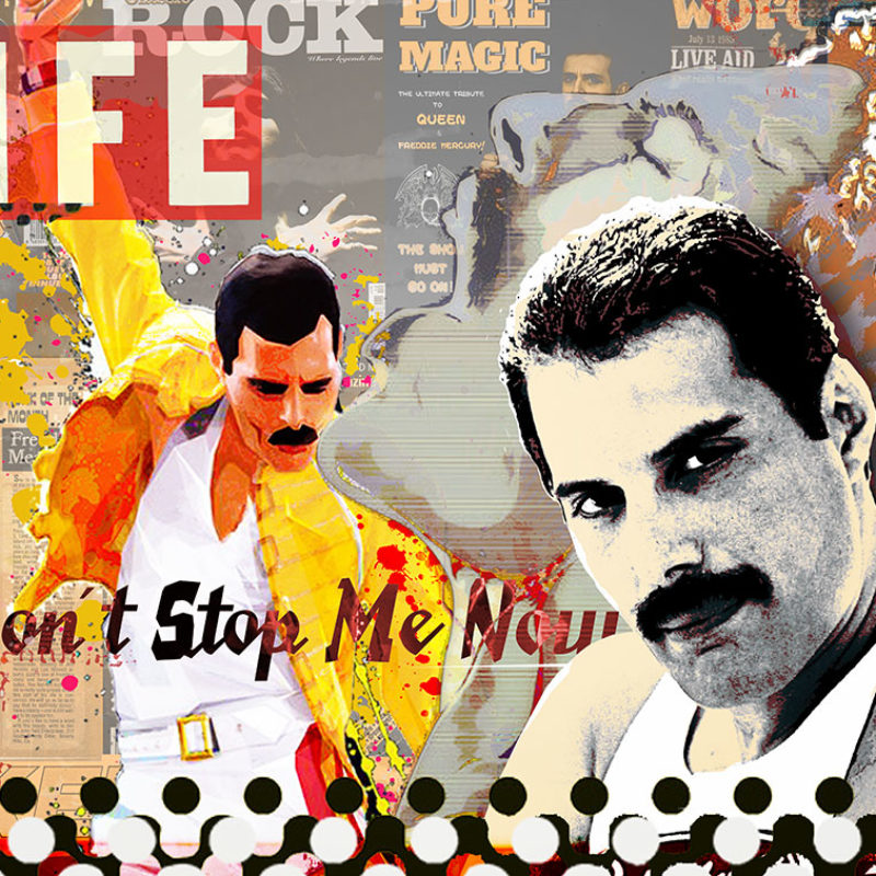 Don´t Stop Me Now – Lifeground Edition 2021 – 70 x 100 cm